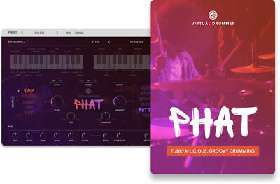 UJAM Instruments - PHAT Virtual Drummer (VST/AU/AAX) License