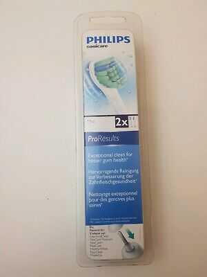 Philips Sonicare HX6022 Pro Results Mini Replacement Toothbrush Heads Pack of 2*