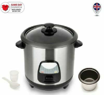 63d9e38a8ea Rice Cooker Electric 1L Steamer Cooking Pot Non Stainles Steel Stick Keep  Warm