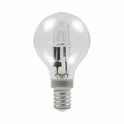 10 x Halogen Golf Ball Light Bulbs SES E14 28W= 40W DIMMABLE Energy Saving Lamps