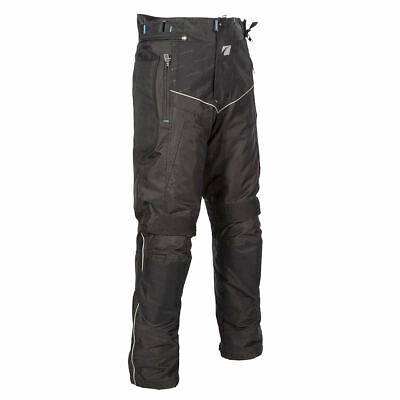 Spada Modena Mens Waterproof and Breathable Textile Motorcycle Trousers Black
