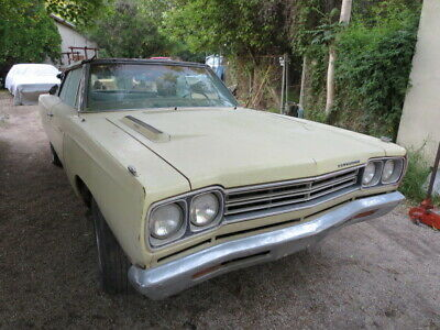 1969 Plymouth Road Runner  1969 Roadrunner convertible