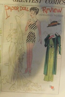 Blondie Sunday by Chic Young from 5/27/1934 Rare Paper Doll Full Page Size !