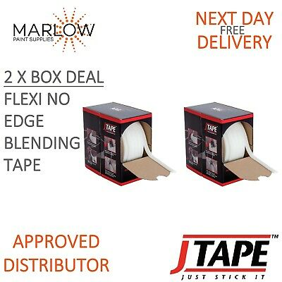 2 X J TAPE 1018.1525  FLEXI NO EDGE BLENDING TAPE 15MM x 25M JTAPE MASKING FOAM