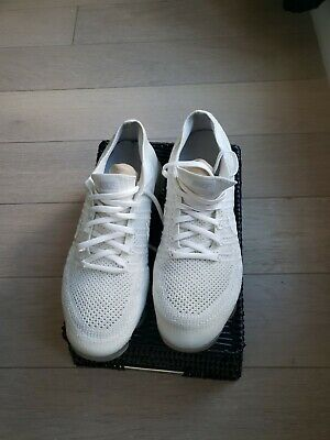 NIKE AIR VaporMax Flyknit 2.0 2018  MEN White Running Trainers Shoes Size 9