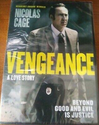Vengeance A Love Story (DVD 2017) Nicolas Cage Free Shipping NEW sealed