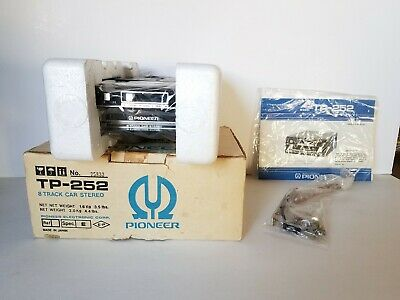Pioneer TP-252 NEW IN BOX 8 Track Car Stereo