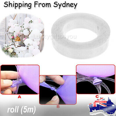 5m Balloons Decorating String DIY Balloon Arch Strip Tape Cake Gift Table Decor