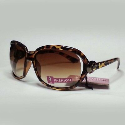 Foster Grant Women Sunglasses Obsessed Brown 50mm Lens New