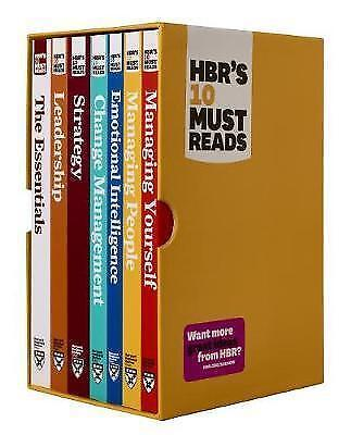 HBR's 10 Must Reads Boxed Set with Bonus Emotional Intelligence (7 Books) #4561