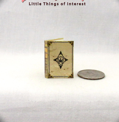 KINGSGUARD BOOK OF THE BROTHERS Miniature Book Dollhouse 1:12 Scale Illustrated