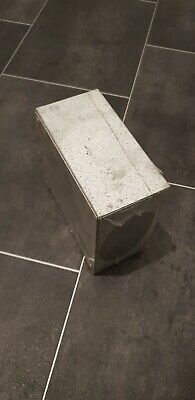 "2 x Galvanised Adaptable Steel Box Electrical Enclosure 150x150x75mm 6""x6""x3"""