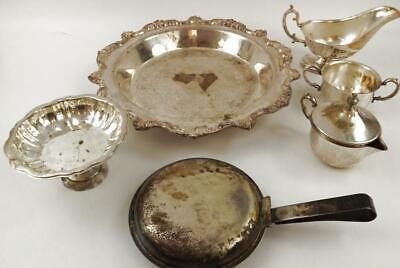 Assorted Lot/Brand Silver Plate Items (6)