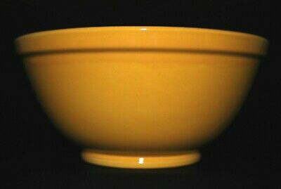 Bauer Pottery Co **very Large & Rare** Yellow Bowl #3 Vintage Ceramic Excellent