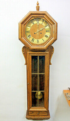 Old Wall Clock Regulator Chime clock *FHS FRANZ HERMLE & SOHN*