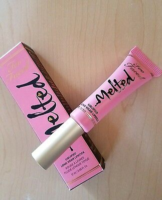 Too Faced Melted Liquified Long Wear Lipstick in Melted Frosting PINK