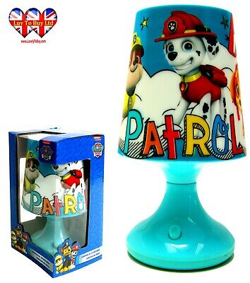 Paw Patrol  Night Light Lamp Bedroom Night Light,Official Licenced