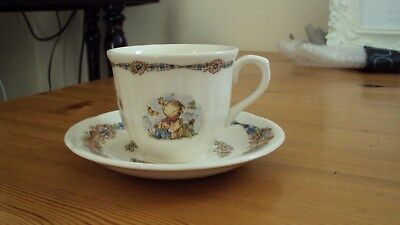 Wedgwood Rambling Ted Cup & Saucer BN