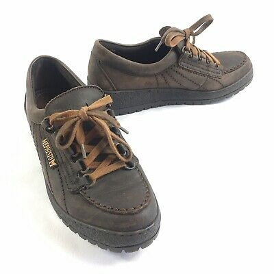 0b7ea32a5a6f6 WOMEN'S VINTAGE MEPHISTO Shoes Size US 7 Leather Walking Brown EUR 4 1/2  France