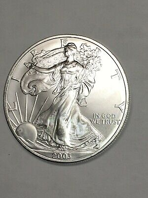 2003 One Ounce Silver American Eagle