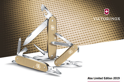 Victorinox Complete Series Alox Limited Edition 2019 Classic + Cadet + Pioneer