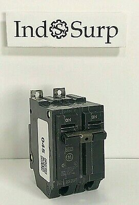GE THQB22015 15A 2P 120//240V 10KAIC BOLT-ON MOLDED CIRCUIT BREAKER