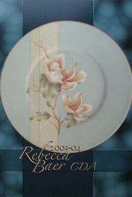"Rebecca Baer tole painting pattern ""Pastel Magnolias"""