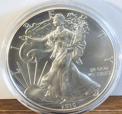 2010 Silver Dollar Coin ~ 1 troy oz AMERICAN EAGLE Walking Liberty .999 Fine BU