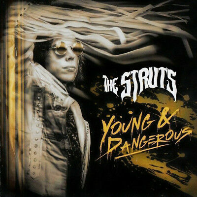 The Struts   Promo Cd Album  France Numbered  Young & Dangerous
