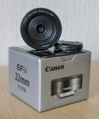 Canon EF-M 22mm f/2 STM Lens - MINT condition, barely used