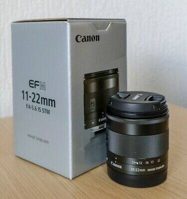 CANON EF-M 11-22mm f/4-5.6 IS STM Ultra Wide Zoom Lens