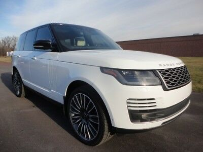 2018 Land Rover Range Rover Supercharged 2018 LAND ROVER RANGE ROVER V8 SUPERCHARGED 1 OWNER AS NEW LOADED CLEAN CARFAX