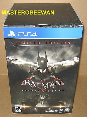 Batman: Arkham Knight Limited Edition (Sony PlayStation 4, 2015) PS4 New Sealed