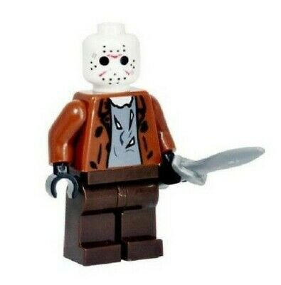 Jason Voorhees Friday The 13th Mini Action Figure Horror Movie Fright Crate