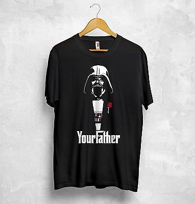 Darth Vader T Shirt I Am Your Father The Godfather Han Solo Star Wars Jedi Sith