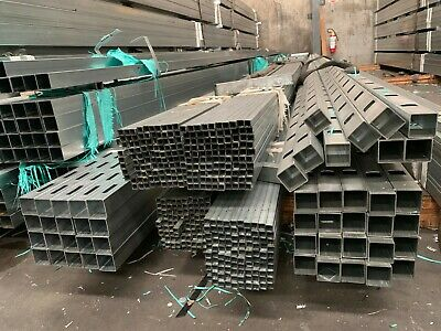 12.7x12.7x7320mm Galvanized steel tube