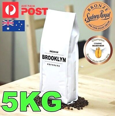 5Kg Fresh Roasted **Premium Coffee Beans** Colombian Roast Coffee Award Winning