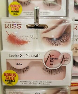 e250602f9f1 KISS LOOKS SO Natural Lashes (Sultry Style) **Bonus Glue Included ...