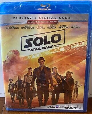 SOLO A STAR WARS STORY Blu-ray and DIGITAL CODE Brand New unopened