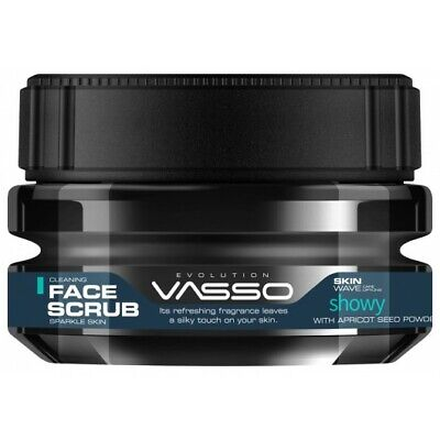 Vasso Showy Cleaning Face Scrub Sparkle Skin With Apricot Seed Power (250ml)