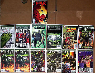 Grab Bag of 13 Modern Age HULK (World War + Others) see list ALL NM condition!!