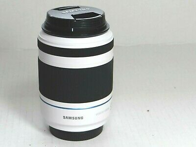 Samsung NX 50-200mm f/4.0-5.6 III OIS ED Lens. White. (AS IS) Works Great. Read