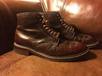 The Meermin Balmoral Boot, MTO in Light Brown Shell Cordovan