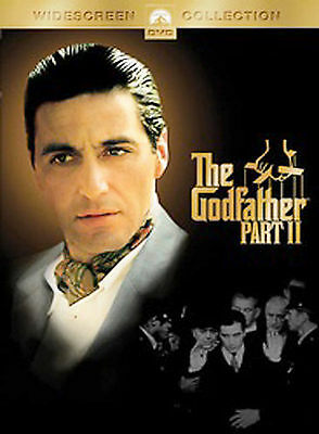 The Godfather Part II  Al Pacino Robert De Niro  (DVD, 2005, 2-Discs) WS 1974