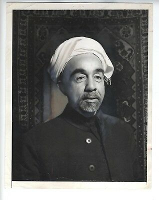 King Abdullah I Jordan 1948 Press Photo عبد الله الأول بن الحسين Vintage Killed