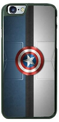 Captain America First Avenger Shield Phone Case for iPhone PLUS Samsung etc.