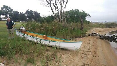 Outboard Motor Canoe, Hand built Selway Fisher design,4 Metre