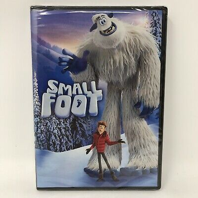 SMALLFOOT 2018 Widescreen Animated DVD Small Foot New Ships Fast!
