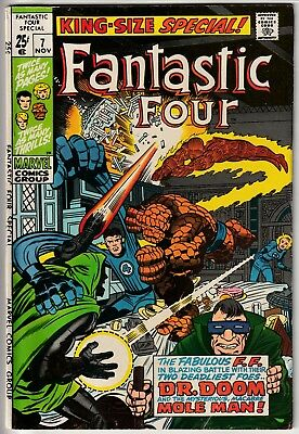Fantastic Four Annual #7 (Nov 1969, Marvel) • 3 classic Jack Kirby reprints!