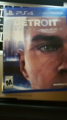 Detroit Become Human Sony Playstation 4 PS4 no scratches